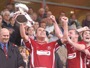 Eighteen years have passed since Bradley Vowden, held up the Vase at Springfield as the Jersey captain. These days he serves as JFA president and has spoken of his determination to stage the 2021 final in Jersey as scheduled.