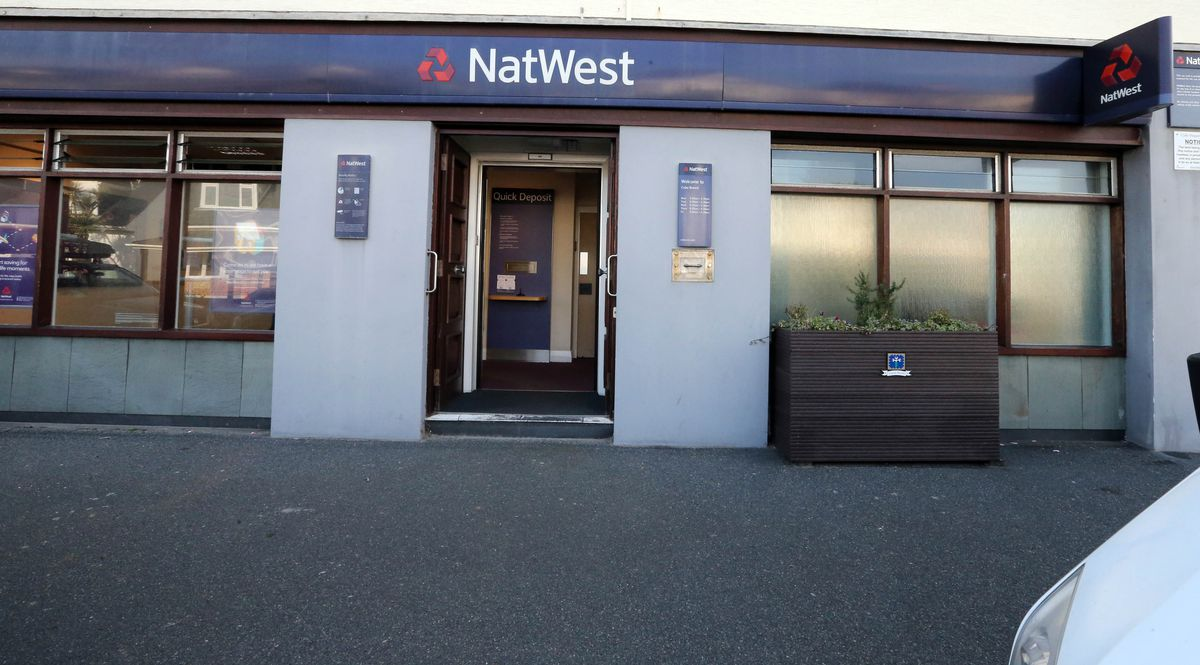 The NatWest branch at Cobo, pictured, along with St Sampsons will be closing in January. (28673090)