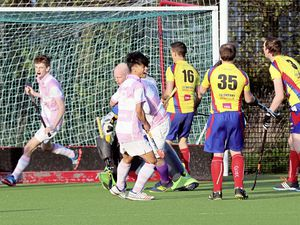 Early shock: Jack Birch celebrates an early goal for Yobbos.