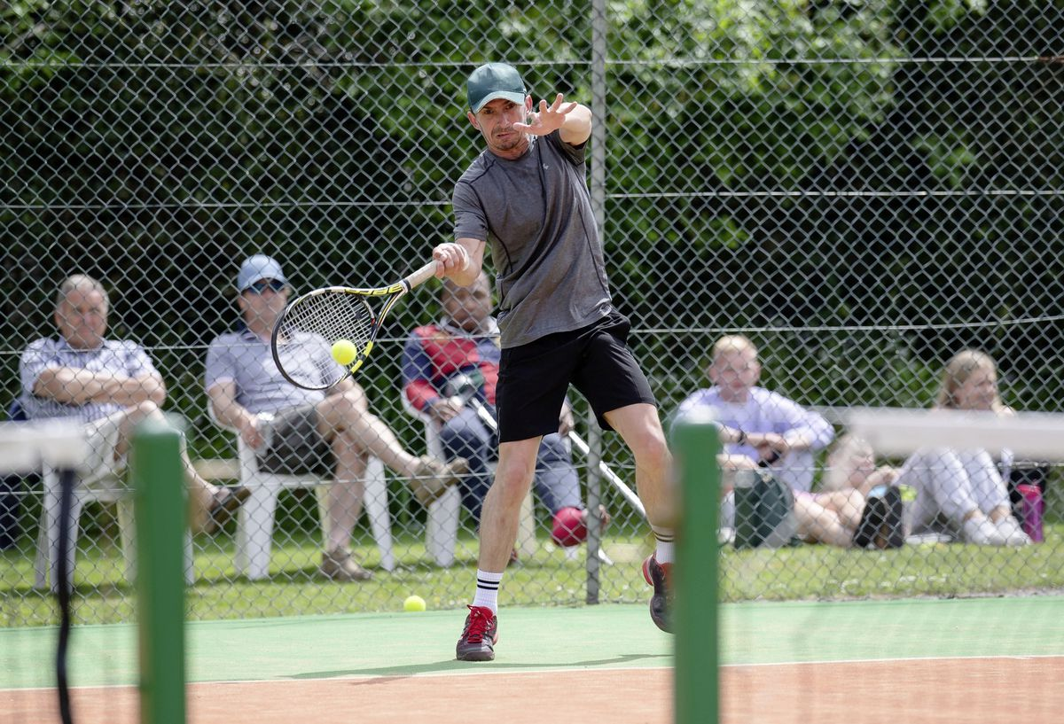 Men's singles runner-up Ben Wentzel. (Picture by Andrew Le Poidevin, 29626836)