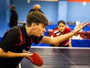 Table Tennis - Houge De Pommier - CI Juniors - Ben Sharp  - By Ben Fiore - 3/11/19. (28741457)