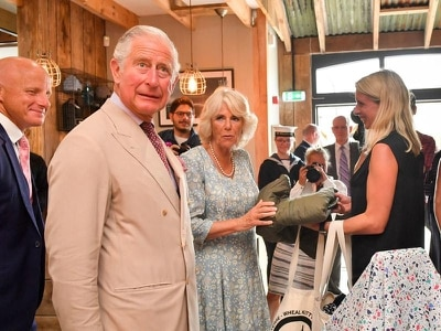 Prince Charles admits to being fan of TV's Poldark
