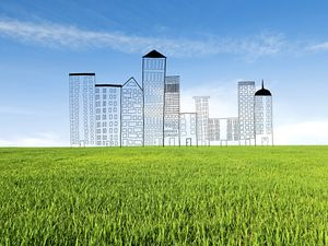 Building on green field sites is preferred by developers, but not the local community. (rzoze19/Shutterstock.com) (24328109)