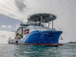 Cable link laying 'progressing well'