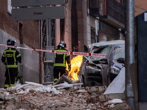 Four killed as gas explosion rips through Madrid building