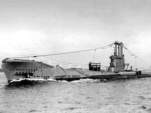 HMS Affray submarine sunk in 1951. (29435160)