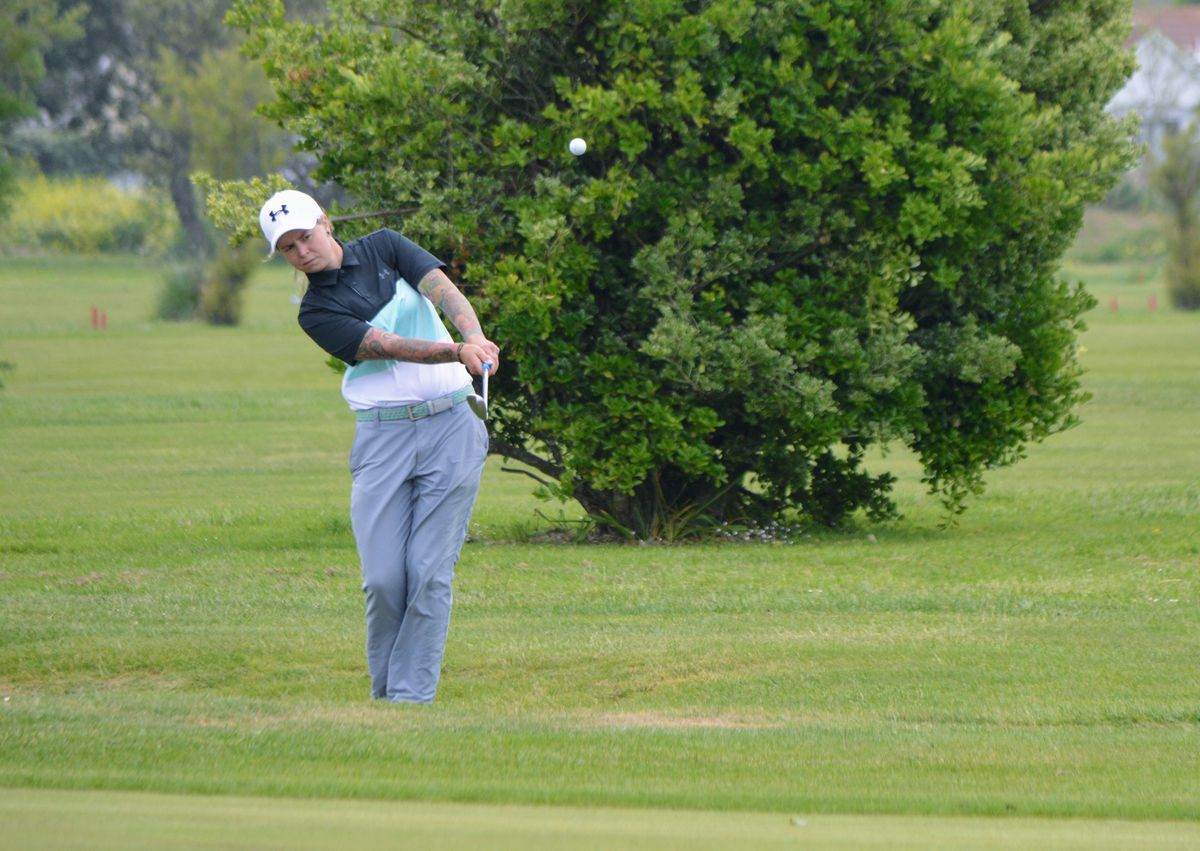 Rochelle Vaudin will start the defence of her Saffery Champness Island Women's Championship crown in the 18-hole qualifier at L'Ancresse on Sunday. (Picture by Gareth Le Prevost, 28526314)