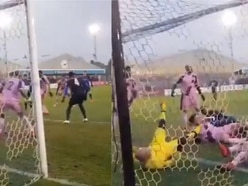 This incredible FA Trophy goalmouth scramble has to be seen to be believed