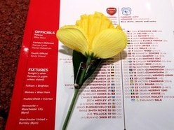Arsenal remember missing Cardiff striker with 'classy' programme tribute