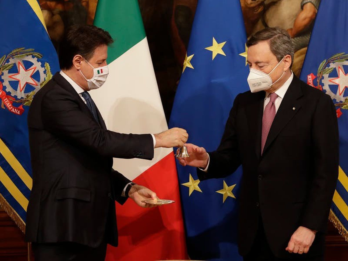 Draghi to become Italian prime minister