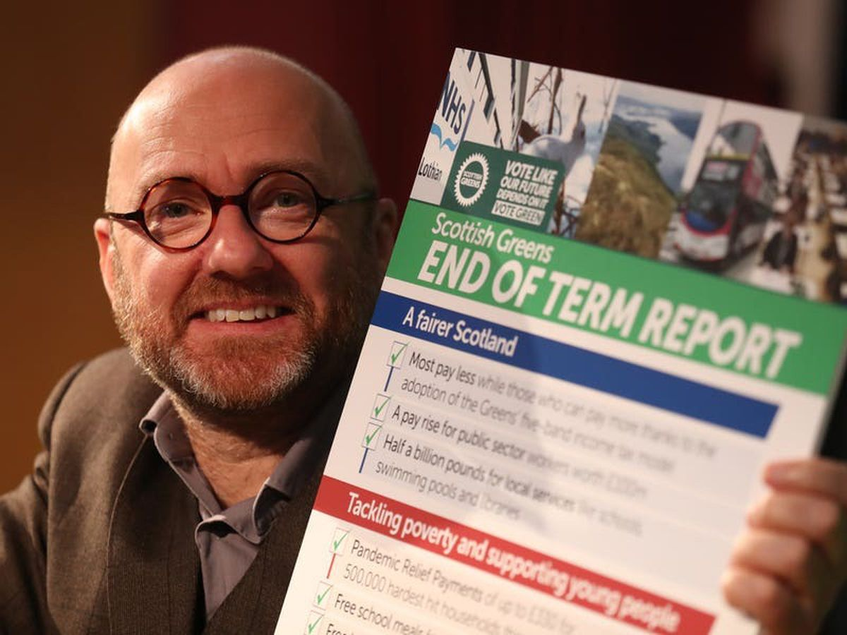 Focus on regional list votes helps Greens, says Harvie