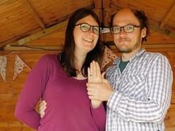 Proposal on the catwalk for Alderney Week couple