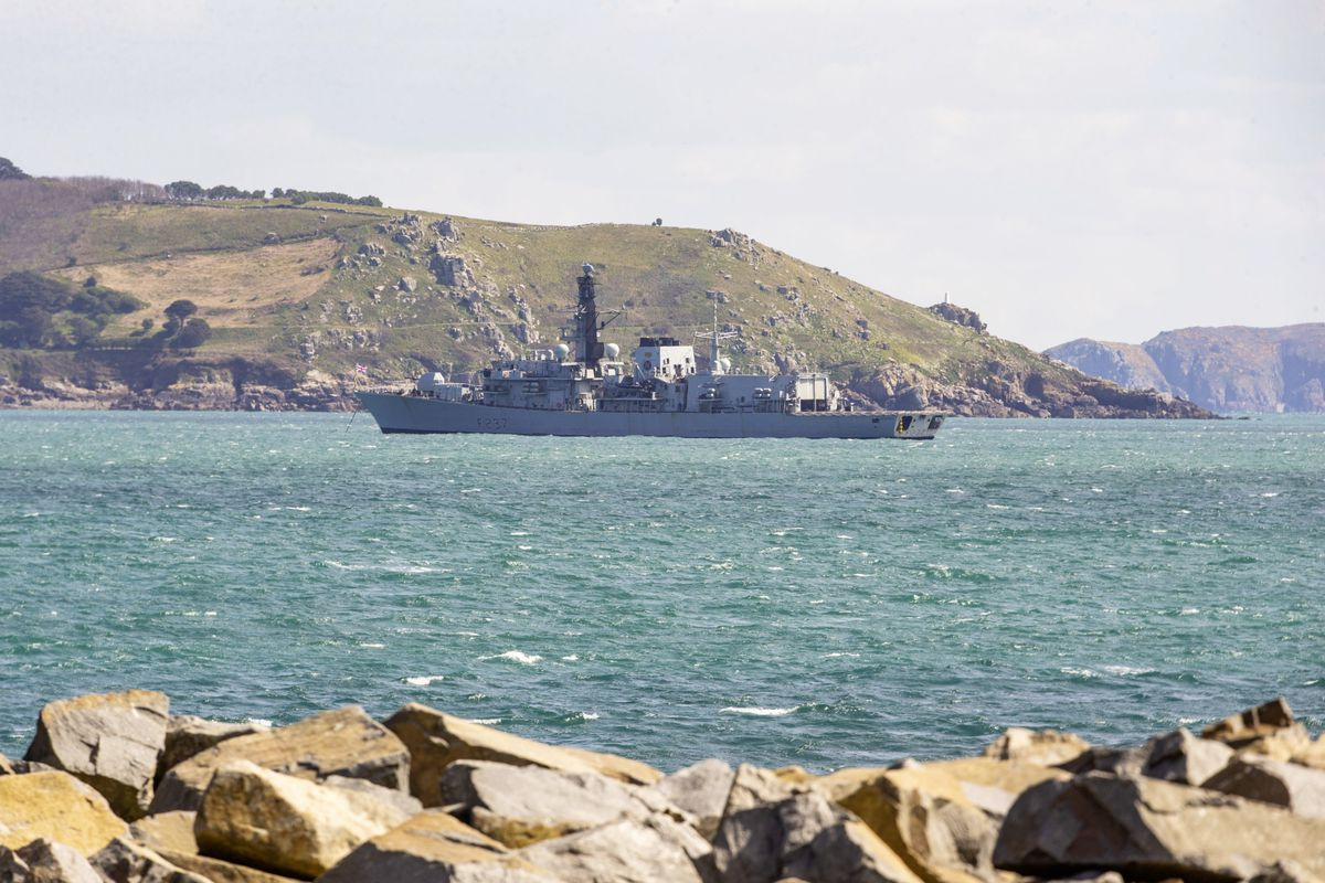 HMS Westminster Vessel. (Picture by Sophie Rabey, 29442588)