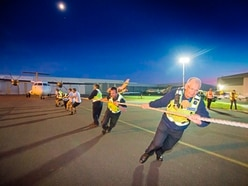 Plane-pull teams put back into it for good causes