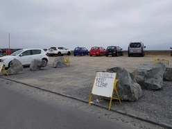 Boulders installed at Pembroke car park to improve access