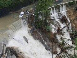 Two dead as Typhoon Lan sweeps across Japan