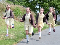 Schools walking to Gibraltar a Daily Mile at a time