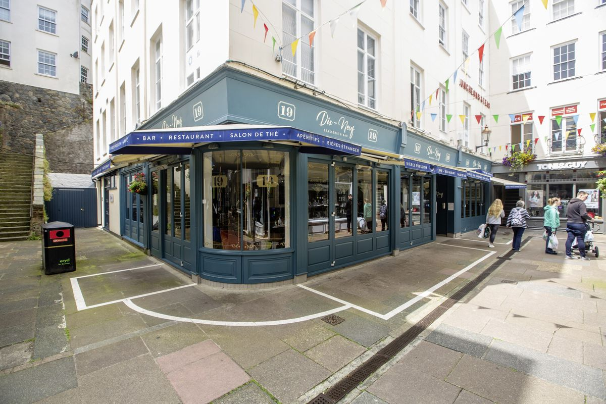 Dix Neuf in Commercial Arcade has voluntarily closed as a precautionary measure due to staff isolating after some felt unwell.  (Picture by Peter Frankland, 29746712)