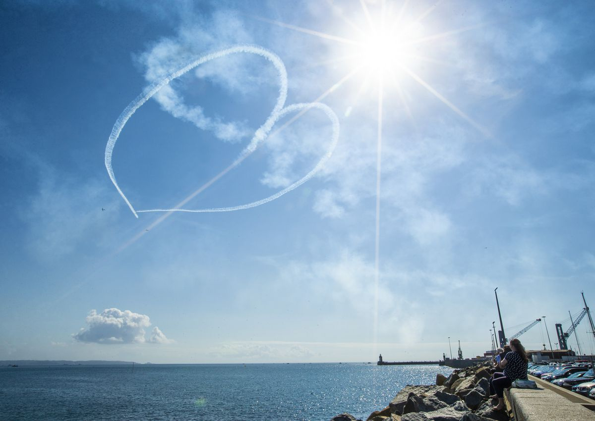 The Battle of Britain Air Show in 2020. (Picture by Sophie Rabey, 29688941)