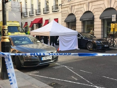 Man dies after cardiac arrest in Mayfair