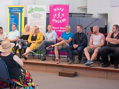 Addiction recovery fayre features inspiring talks