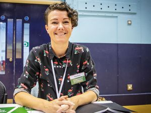 Candidate, Tina Bury.. (Picture by Sophie Rabey.  20-09-20.  Meet the Candidates Event at Beau Sejour, drop-in with 116 of those who are standing in Guernsey's first island wide election..New 29196980)