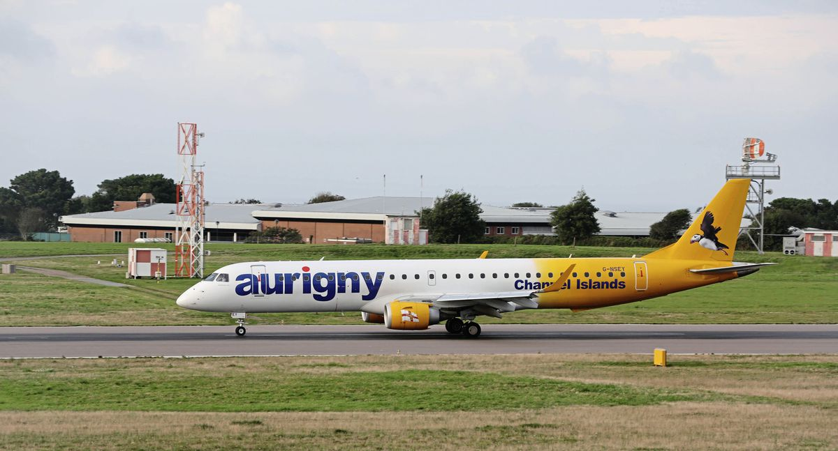 Aurigny will have to rise to the challenge when the island allows quarantine-free travel again, possibly from July. (Picture by Adrian Miller, 29376937)