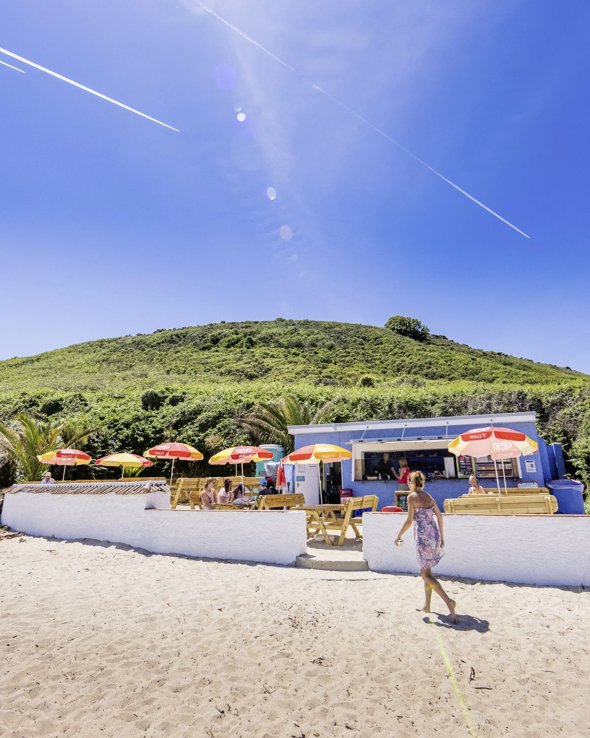 Shell Beach Cafe has been named one of the best beach cafes in Britain. (Picture by Ben Fiore)