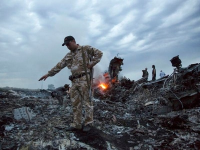 Flight MH17 'downed by Russian military missile'