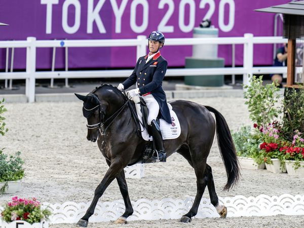 Sark's Carl Hester competing for Great Britain in the Dressage Team Grand Prix Special at the Tokyo 2020 Olympic Games in Japan. GB took the bronze medal in the final. (Picture PA Wire, 29806406)