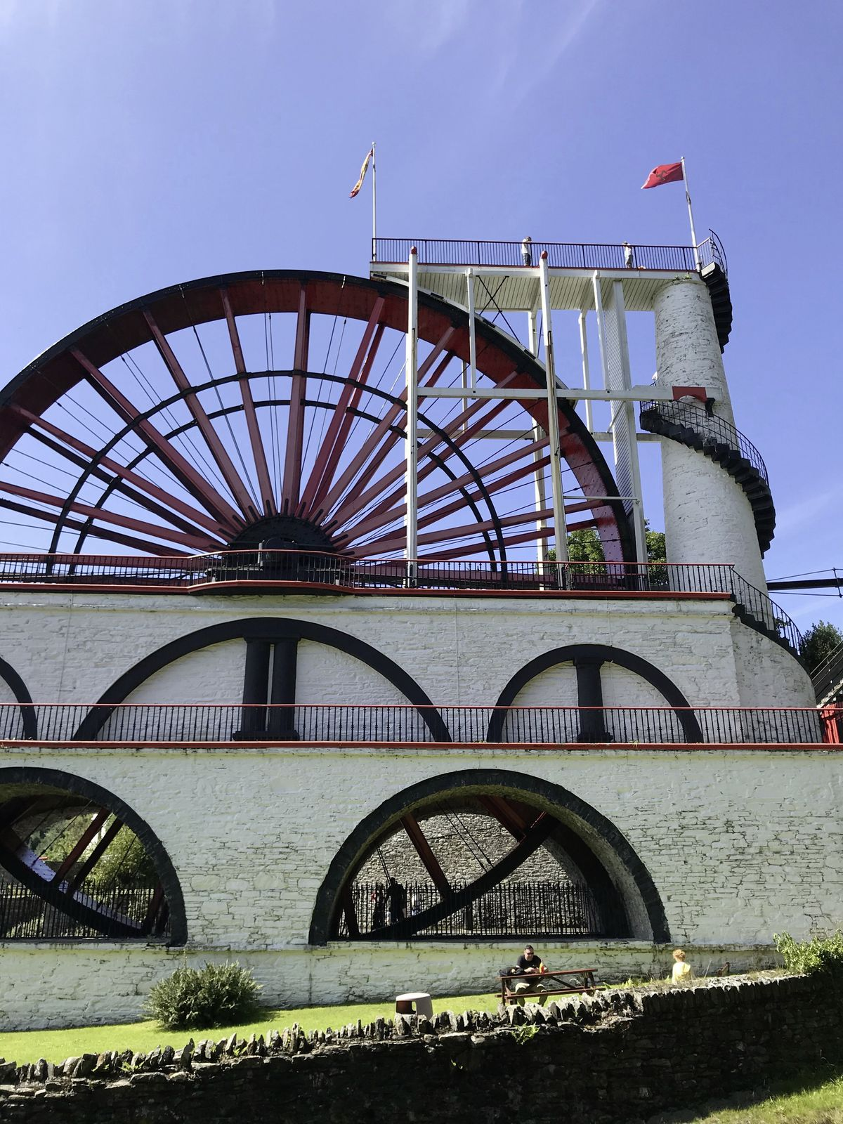 The Great Laxey Wheel – the largest working water wheel of its kind in the world. (28754648)