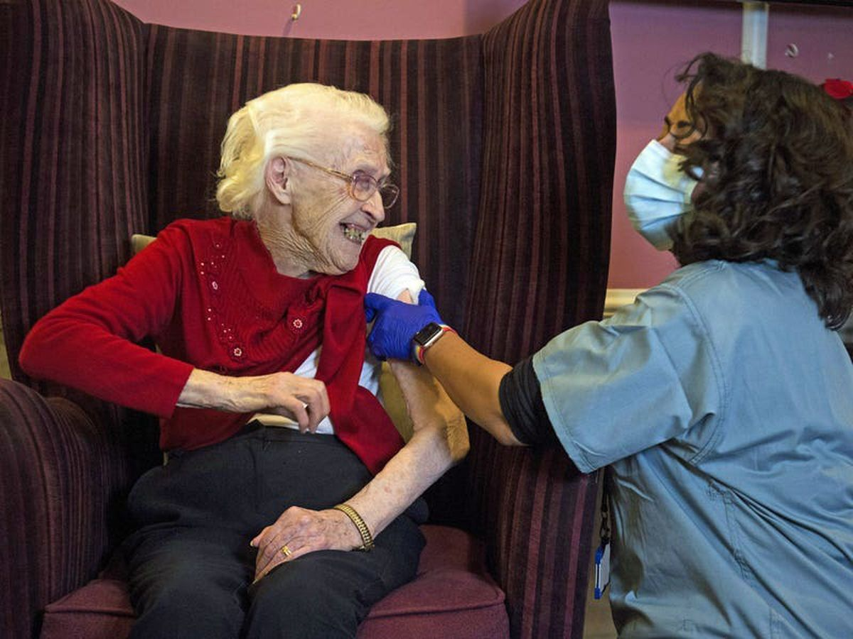 First care home residents get Oxford vaccine as rollout to GPs begins