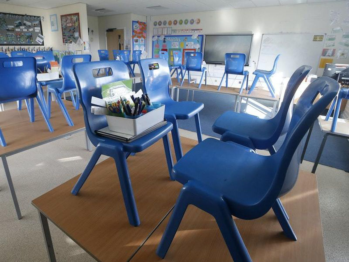 Classroom will remain empty for the coming week.
