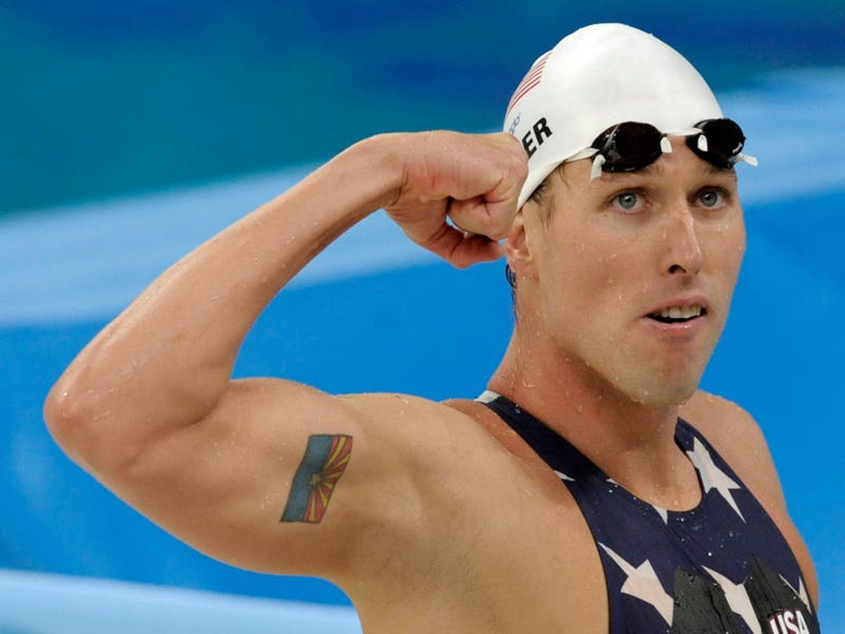 Olympic swimming medallist appears in court over US Capitol riot