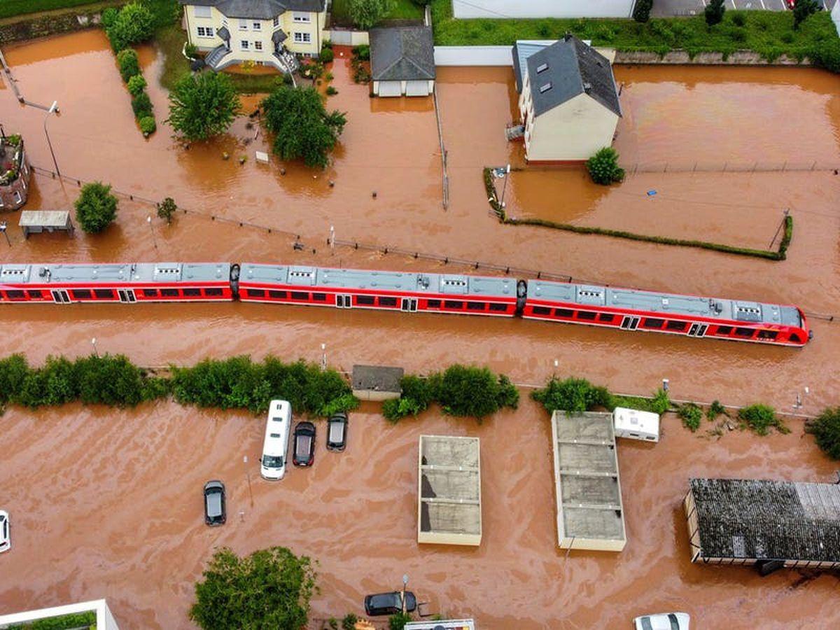German railway: Floods caused billion-euro damage to network