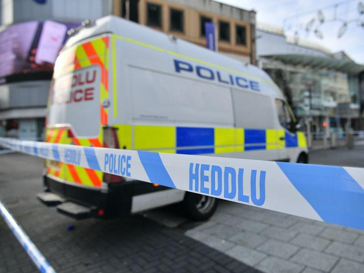 Four teenagers in custody after 'stabbing incident' in Cardiff city centre