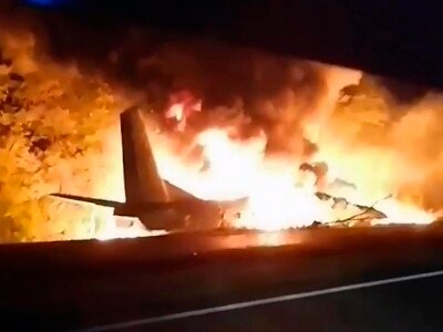 Ukraine military plane crash death toll increases