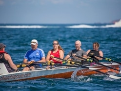 Cool Rowings crew just hold off fast-finishers