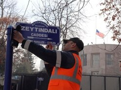 Turkey renames US Embassy street after Syrian offensive