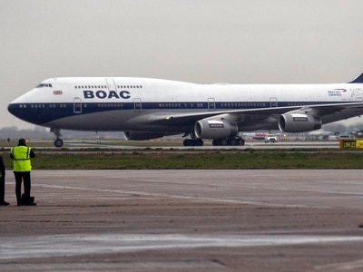 British Airways plane repainted in retro livery for 100th anniversary