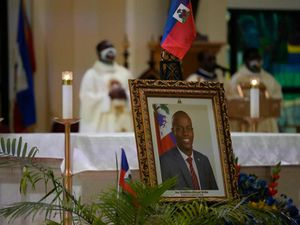 Violence, protests continue ahead of funeral service for slain Haitian leader