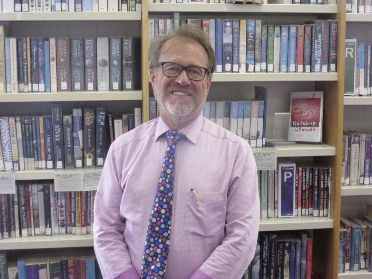 Rick James, Elizabeth College vice-principal and the co-ordinator of its new bursary scheme, said it was really important to him. He had been lucky enough to benefit from something similar in the UK. (Picture by Mark Ogier, 28675045)