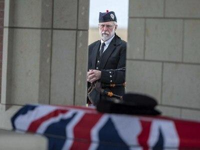 Enigma codebreaker buried in US with UK military honours