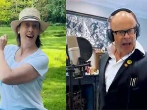Harry Hill and Miranda Hart join other comedians on song to help NHS