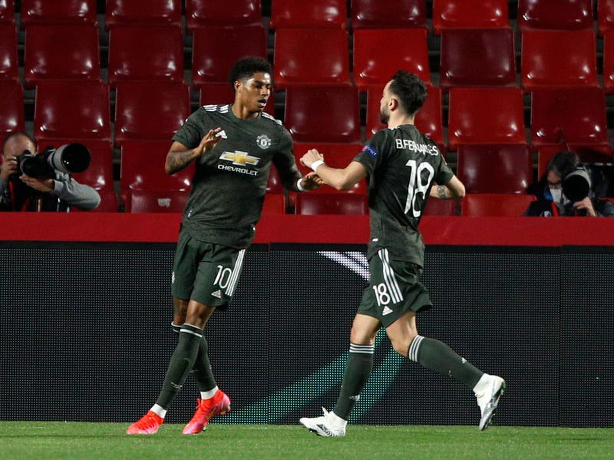 Marcus Rashford shakes off injury concerns to help Man Utd to win over Granada