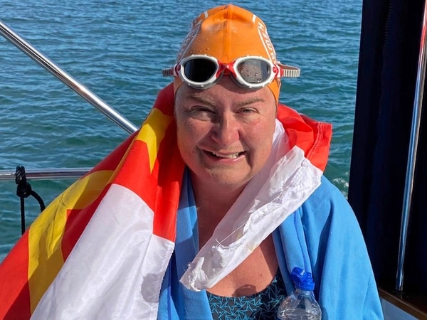 Channel next for first Guernsey woman to swim around Jersey