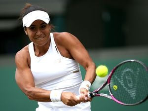 So near but yet so far: Heather Watson lost a thriller on No.1 court. (25122598)