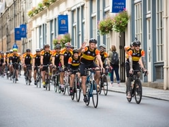 Tour de Sez cyclists set off on their way to Amsterdam