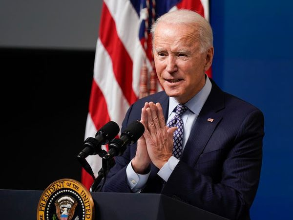 Joe Biden hails US vaccination programme after 50m-dose milestone