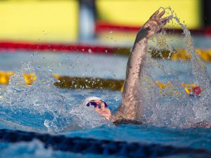 Picture By Peter Frankland. 10-07-19 Island Games 2019 Gibraltar. IG 2019. Swimming. Tatiana Tostevin. (27161229)